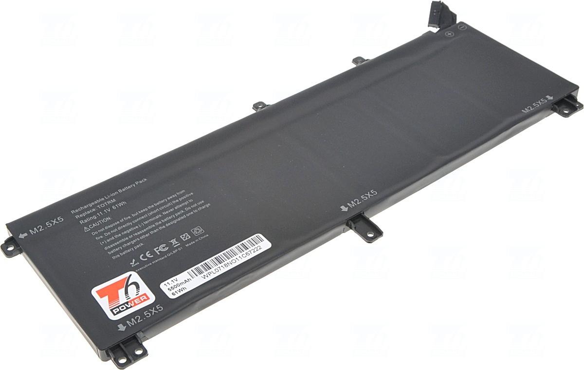 Baterie T6 power T0TRM, H76MV, 7D1WJ, 245RR, Y757W