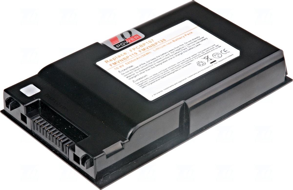 Baterie T6 power FMVNBP119, FMVNBP128, FPCBP107, FPCBP118AP
