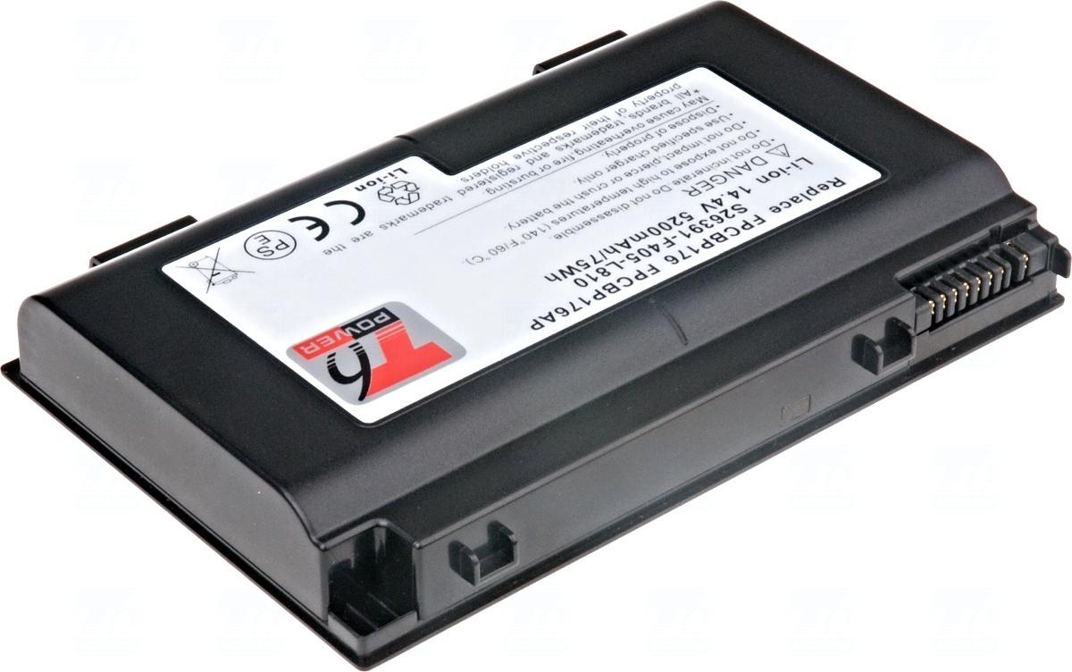 Baterie T6 power FPCBP176, FPCBP176AP, S26391-F405-L810, FPCBP176A, FPCBP199, FPCBP199AP, FPCBP233, FPCBP233AP, CP335319-01, S26391-F518-L200