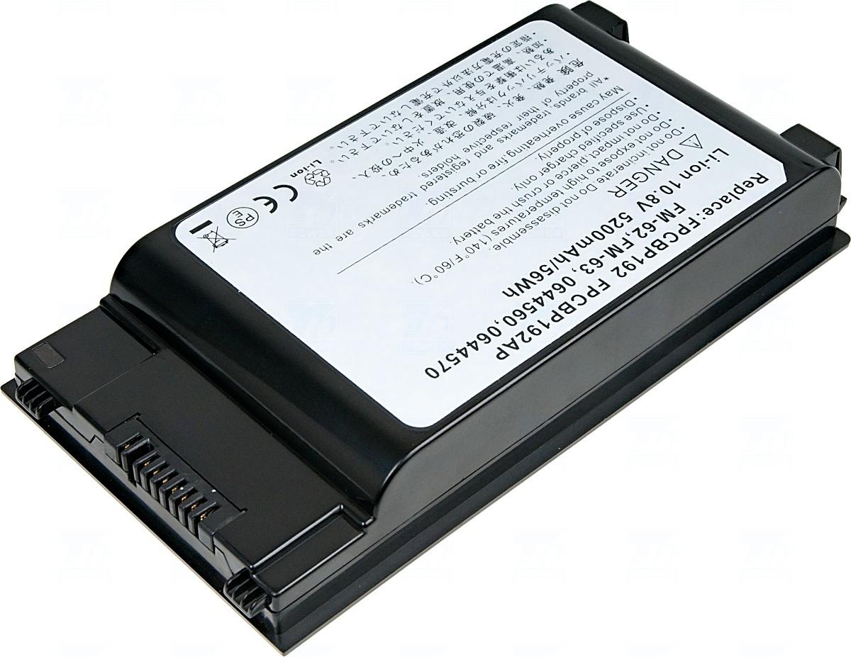 Baterie T6 power FPCBP192, FPCBP192A, FPCBP192AP, FM-62, FM-63, FM-65