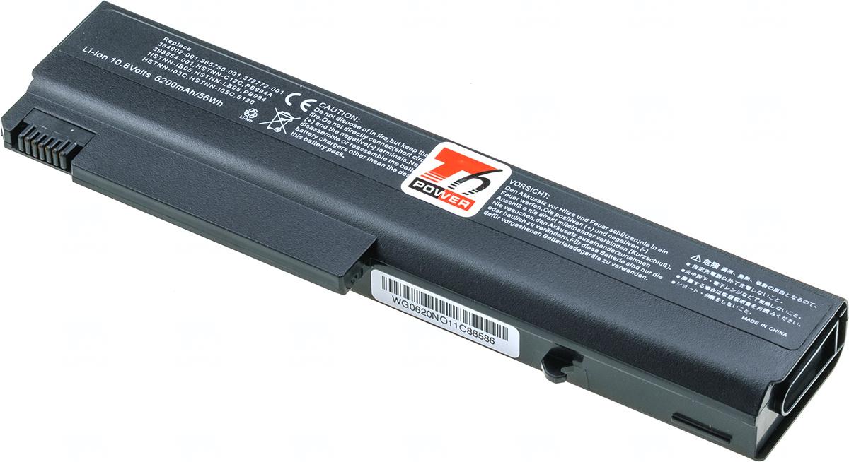 Baterie T6 power PB994A, 360483-004, 364602-001, 365750-004, 372772-001, 383220-001, 382553-001, 393549-001, 393652-001, HSTNN-CB48