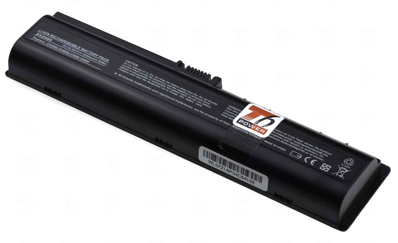 Baterie T6 power 417066-001, 411462-421, HSTNN-LB31, EVO88AA, EX941AA, HSTNN-DB31, HSTNN-DB32, HSTNN-LB42, 411463-141, 417067-001, 432306-001, 441243-241, 441243-141, 441243-421