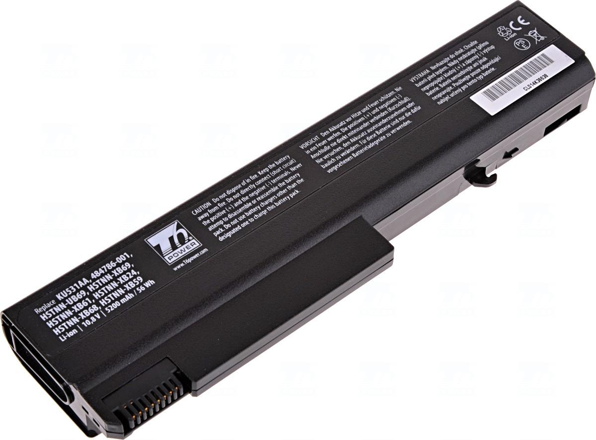 Baterie T6 power KU531AA, 486296-001, 484786-001, HSTNN-CB69, HSTNN-UB69, HSTNN-I44C, HSTNN-I45C, 482962-001, HSTNN-W42C, HSTNN-IB68, HSTNN-IB69