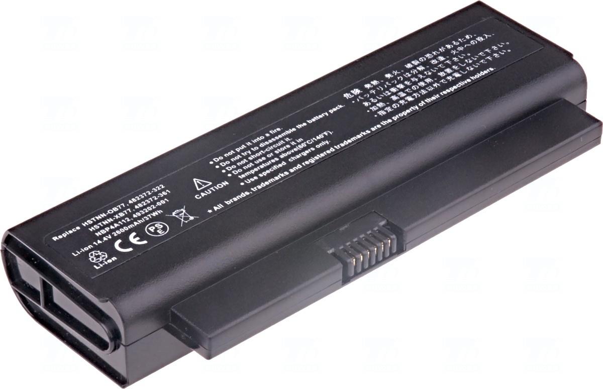 Baterie T6 power 482372-322, 482372-361, HSTNN-OB77, HSTNN-XB77, 493202-001, NBP4A112