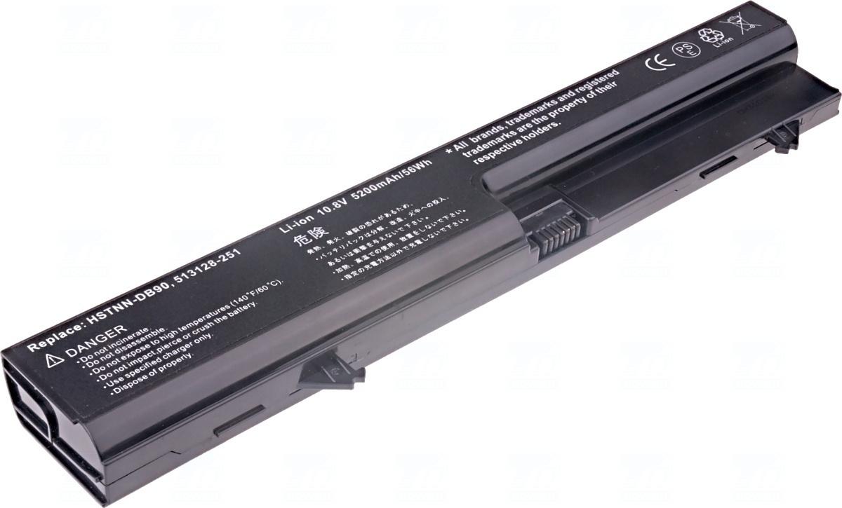 Baterie T6 power HSTNN-DB90, HSTNN-XB90, NZ374AA, 513128-251, 513128-361, 535806-001