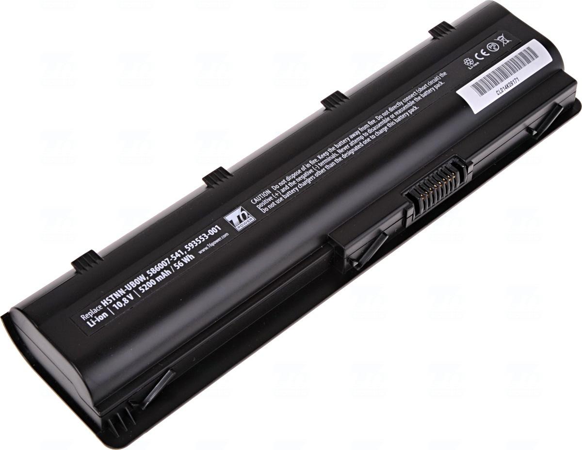 Baterie T6 power 593553-001, 593562-001, 586007-541, 593554-001, 586006-241, 586006-321, HSTNN-CB0W, HSTNN-CB0X, MU06, WD548AA, HSTNN-Q61C, H0F74AA