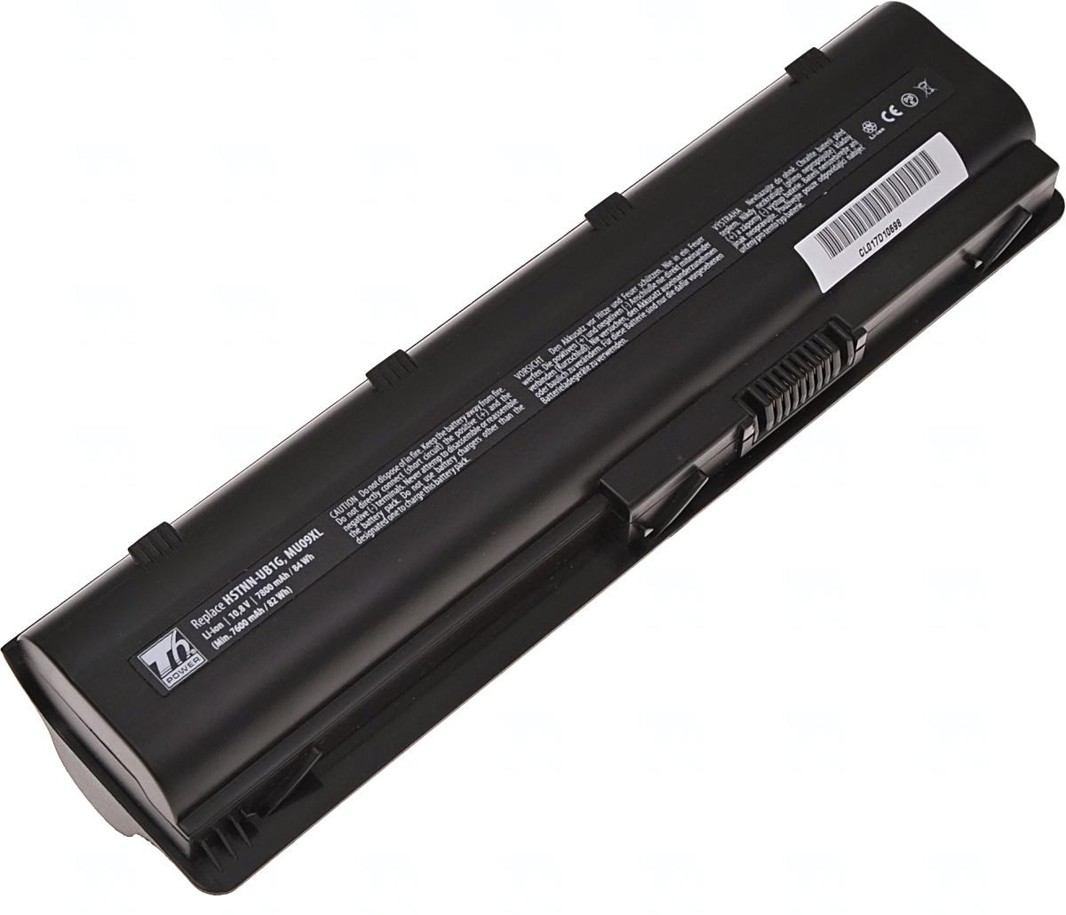 Baterie T6 power 593554-001, 593562-001, 586007-541, 586006-741, 588178-141, HSTNN-CB0W, HSTNN-CB0X, MU09, WD549AA, HSTNN-Q62C, MU09XL