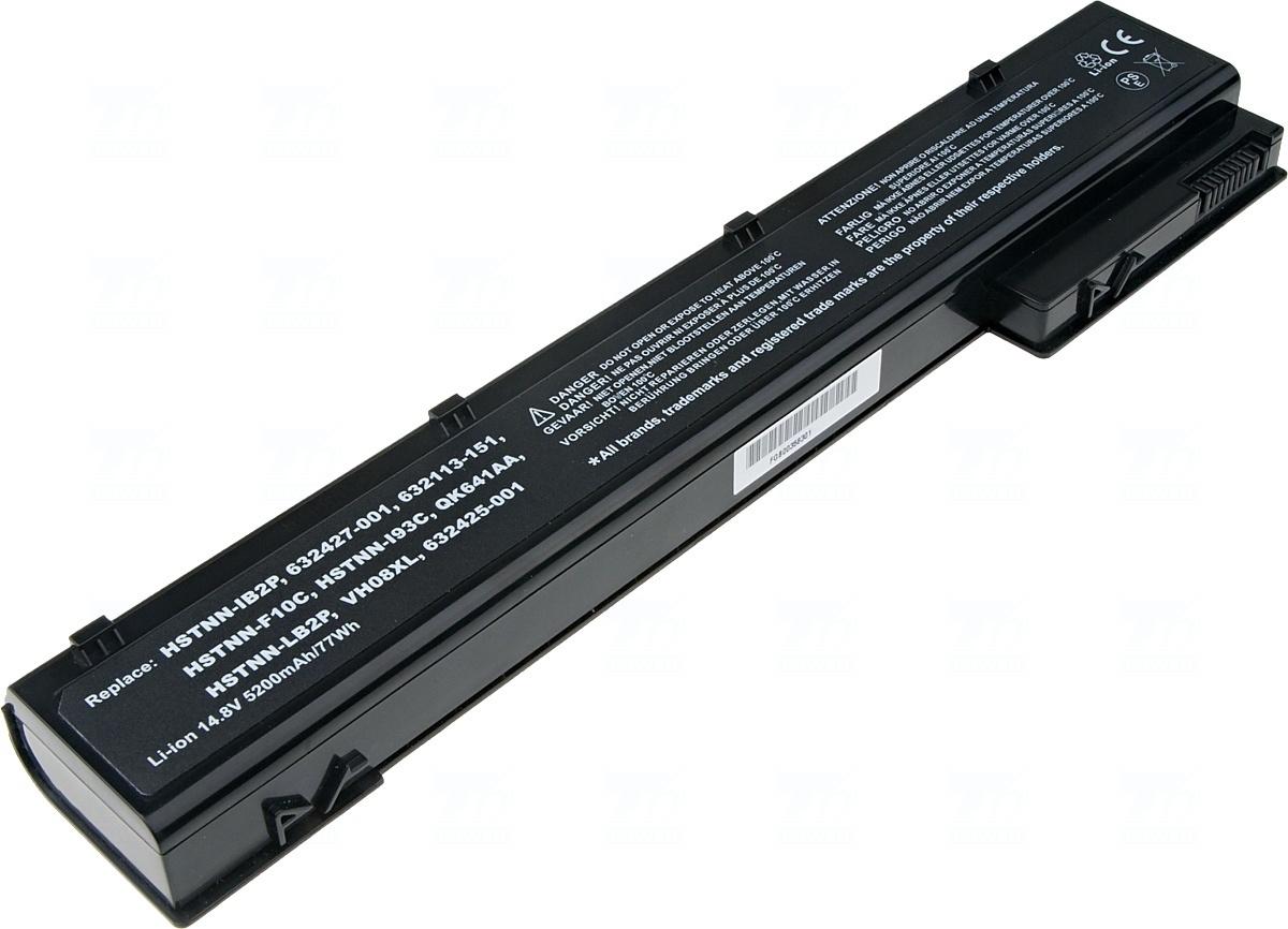 Baterie T6 power 632425-001, 632427-001, QK641AA, 632113-151, VH08, VH08XL, HSTNN-F10C, HSTNN-I93C, HSTNN-IB2P, HSTNN-LB2P