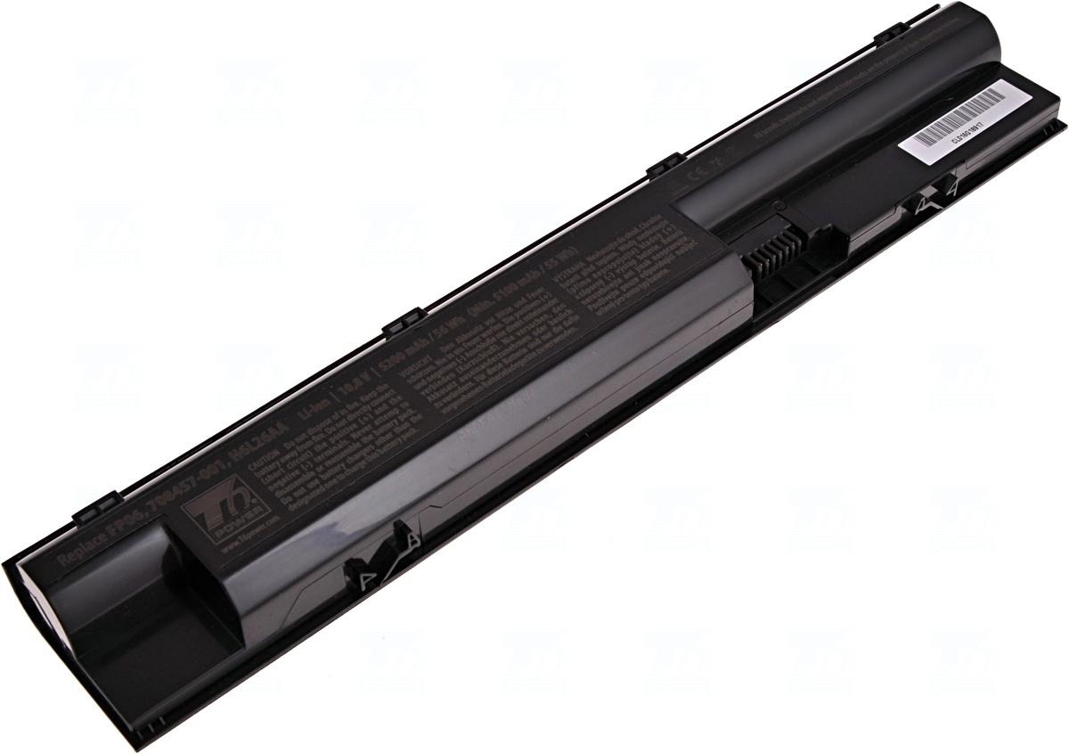 Baterie T6 power 708457-001, FP06, H6L26AA, 707617-421, 707616-141, 707616-151, HSTNN-IB4J, HSTNN-LB4K, HSTNN-W92C, HSTNN-W93C, HSTNN-W95C, HSTNN-W98C, 757661-001, PF06051XL
