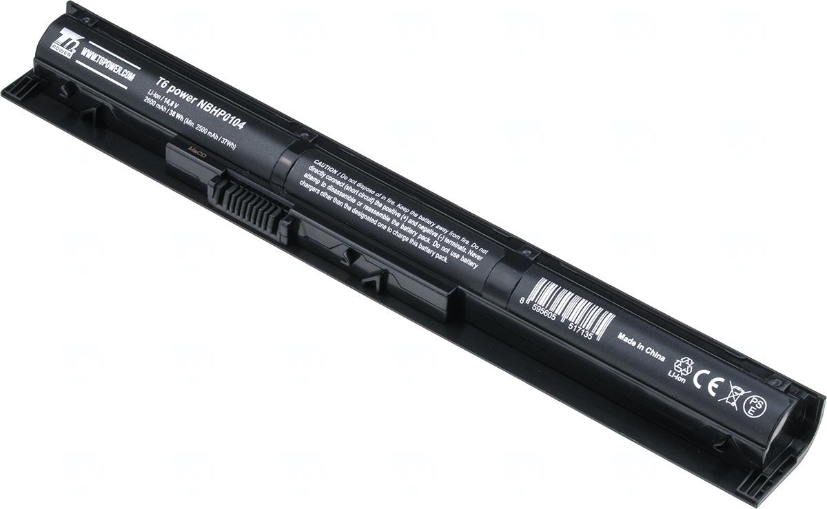 Baterie T6 power 756746-001, VI04XL, 756481-241, HSTNN-C82C, J6U78AA, VI04040XL, HSTNN-C80C, 756745-001, 756743-001, G6E88AA, HSTNN-DB6K, 756479-421