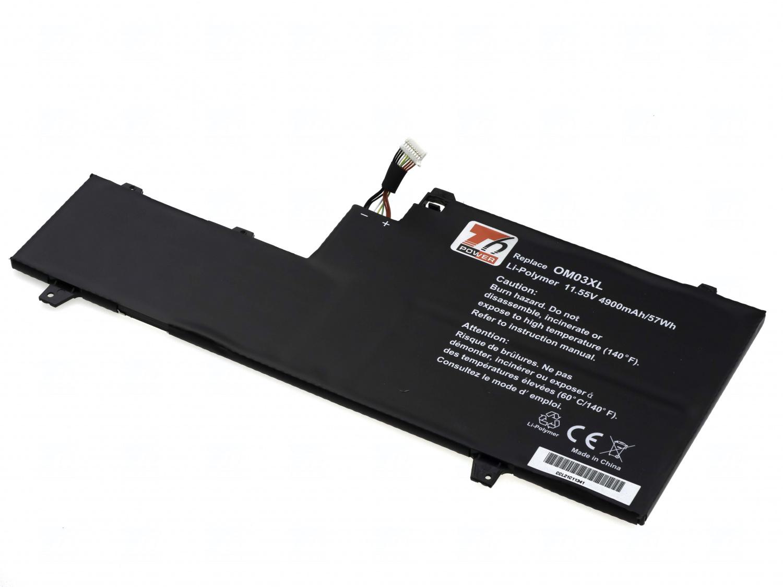 Baterie T6 power OM03XL, 863280-855, OM03057XL, HSTNN-I04C, HSTNN-IB70, 863167-1B1, type 2
