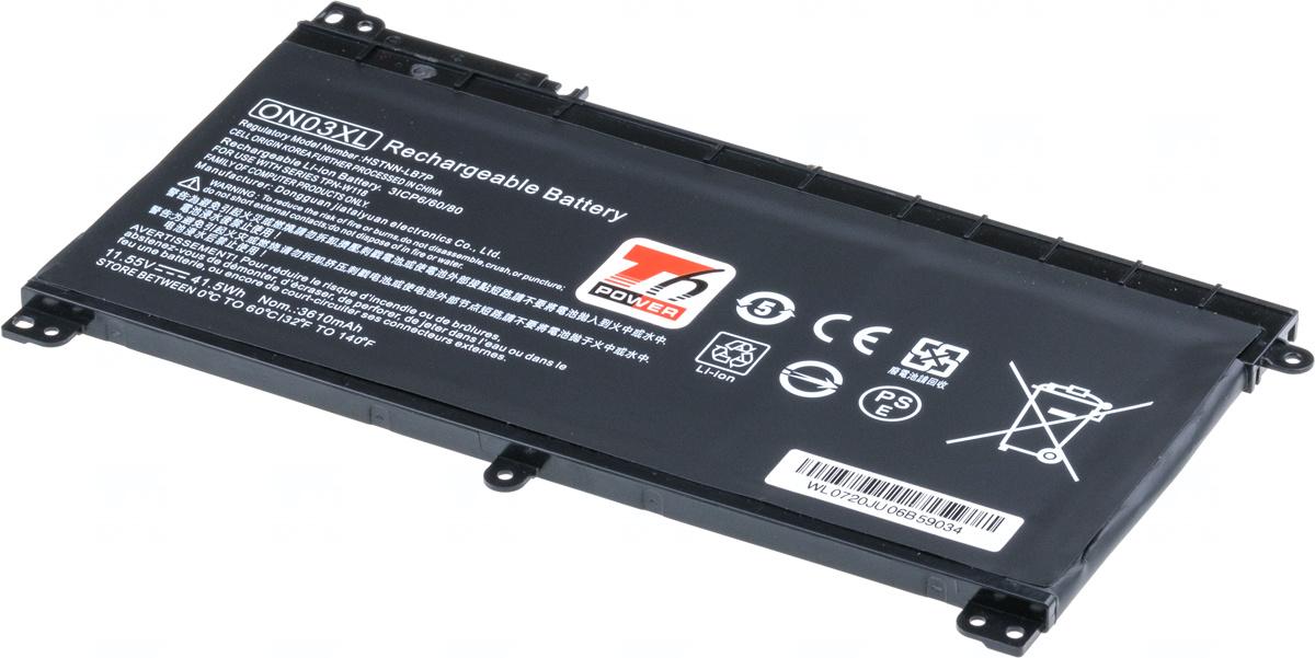 Baterie T6 power ON03XL, 915486-855, ON03041XL, HSTNN-LB7P, 915230-421