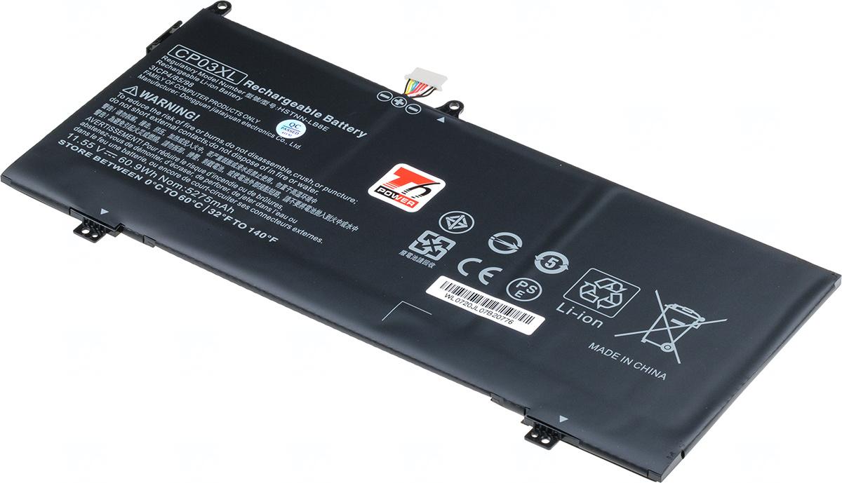 Baterie T6 power CP03XL, 929072-855, CP03060XL, 929066-421, HSTNN-LB8E, TPN-Q199