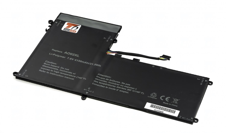 Baterie T6 Power AO02XL, 728558-005, AO02030XL, 728250-1C1, 728250-121, 728250-421, 728250-541, HSTNN-C78C, HSTNN-IB5O, HSTNN-LB5O, HSTNN-UB5O