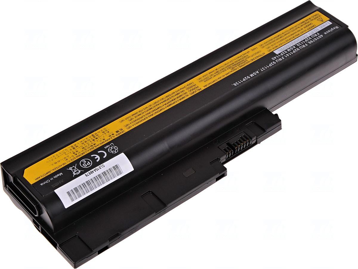 Baterie T6 power Basic 40Y6799, FRU 92P1137, ASM 92P1138, FRU 92P1139, ASM 92P1140, FRU 92P1141, 42T5233, 42T4513, 42T4504, 42T4621, 42T4572, 42T4566