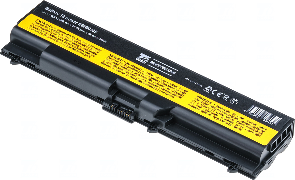 Baterie T6 power 0A36302, 42T4709, 70+, 45N1001, 45N1005, 45N1013, 45N1015, 45N1105, 45N1107, 45N1000, 45N1003, 45N1004, 45N1012