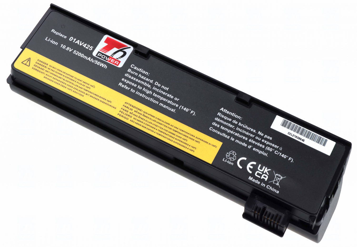 Baterie T6 power 61+, 01AV428, SB10K97585, 4X50M08811, 61++, SB10K97583, SB10K97584, SB10K97582, SB10K97581, 01AV424, 01AV425, 01AV426, 01AV427