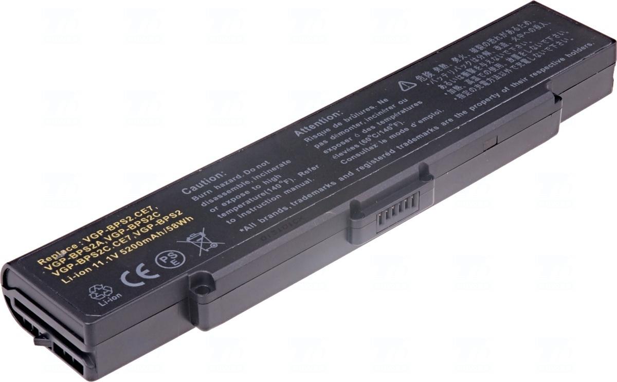 Baterie T6 power VGP-BPL2, VGP-BPS2, VGP-BPS2A, VGP-BPS2B, VGP-BPS2C