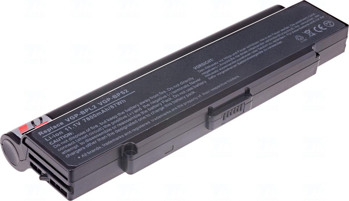 Baterie T6 power VGP-BPL2, VGP-BPL2C, VGP-BPS2, VGP-BPS2A, VGP-BPS2B, VGP-BPS2C