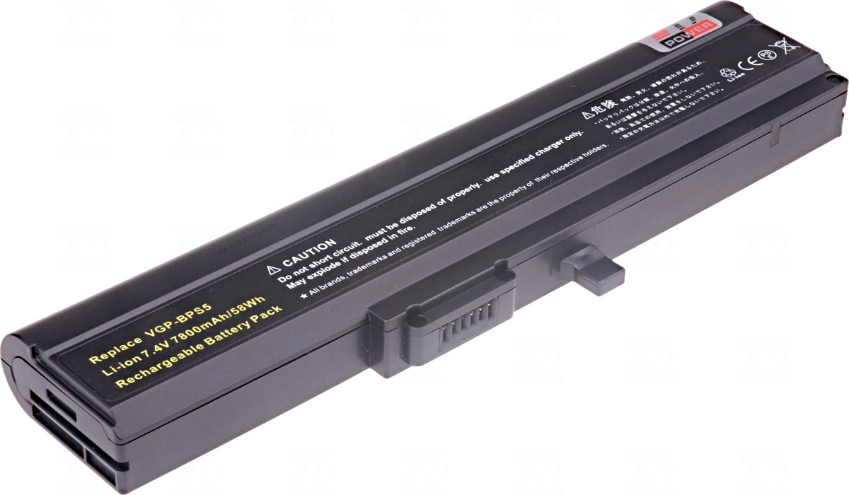 Baterie T6 power VGP-BPS5, VGP-BPS5A