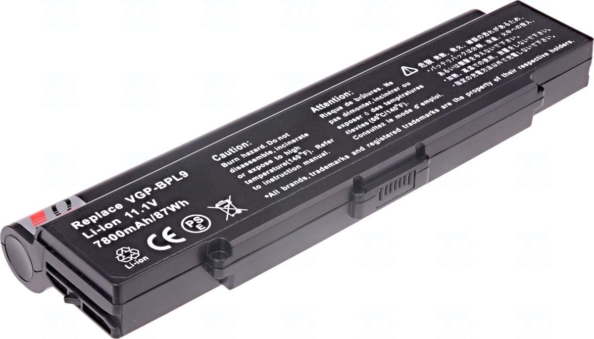 Baterie T6 power VGP-BPL9, VGP-BPS9B