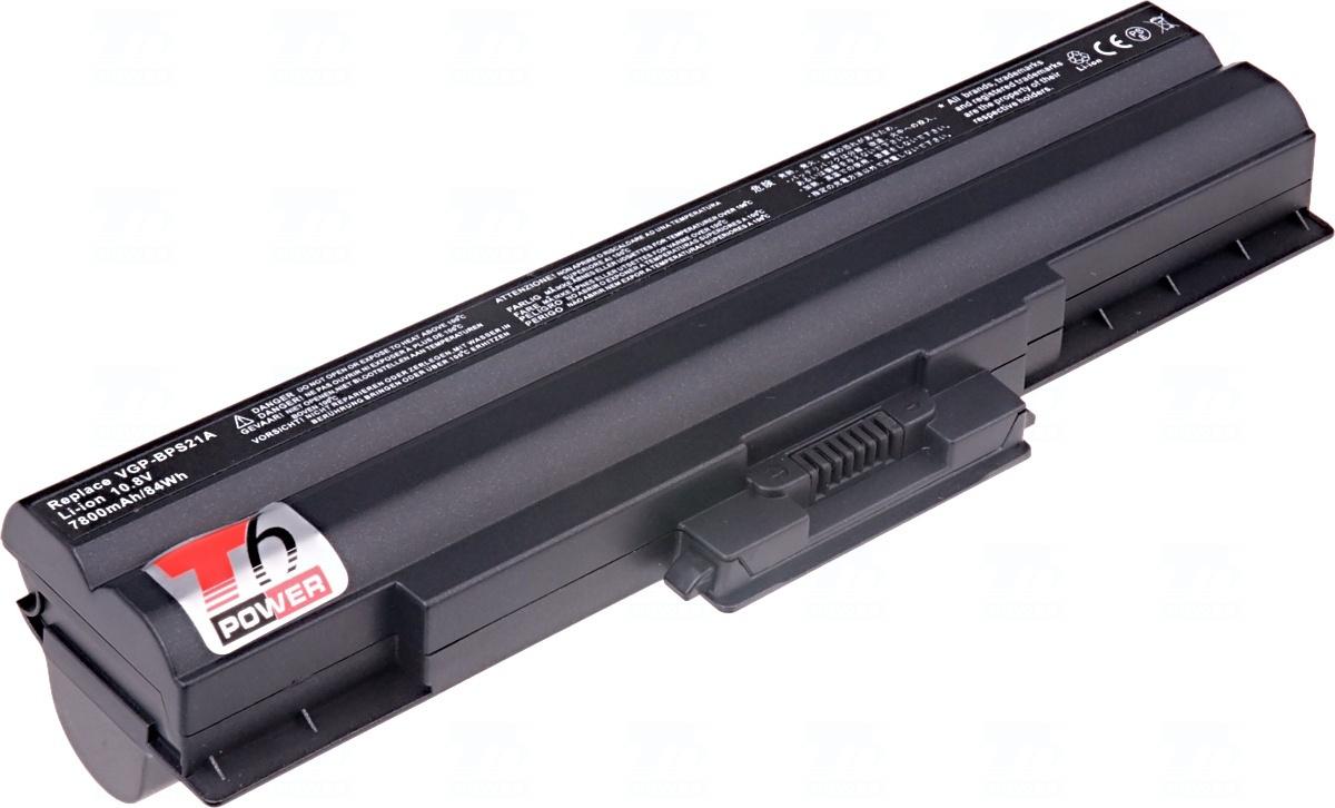 Baterie T6 power VGP-BPL21, VGP-BPS21B, VGP-BPS21, VGP-BPS21A