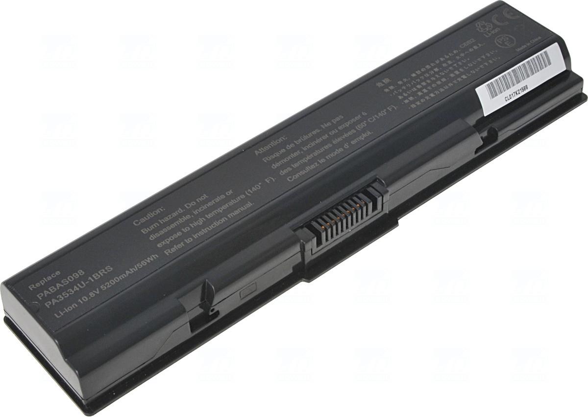 Baterie T6 power PABAS098, PA3534U-1BRS, PA3534U-1BAS, PA3533U-1BRS, PA3533U-1BAS