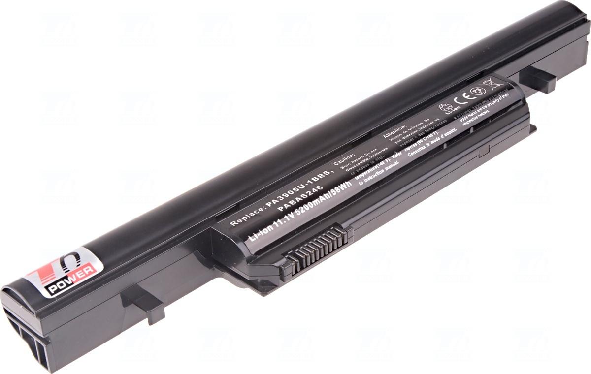Baterie T6 power PA3905U-1BRS, PA3904U-1BRS, PABAS246