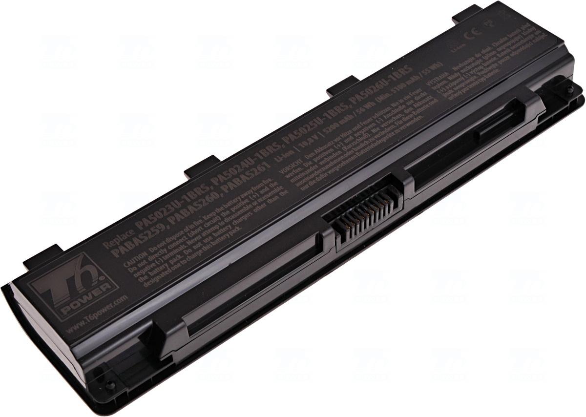 Baterie T6 power PA5024U-1BRS, PA5025U-1BRS, PABAS260, PABAS261, PA5109U-1BRS, PA5110U-1BRS, PABAS272, PA5023U-1BRS, PABAS259, PABAS262