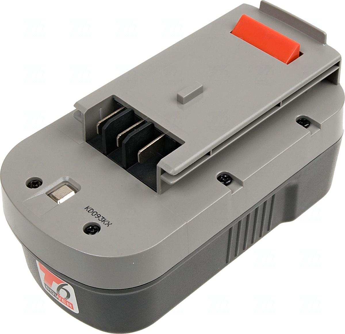 Baterie T6 power FSB18, FS180BX, HPB18, 244760-00, FS18BX, BD1834L, A18, A18E, A1718, Ni-MH