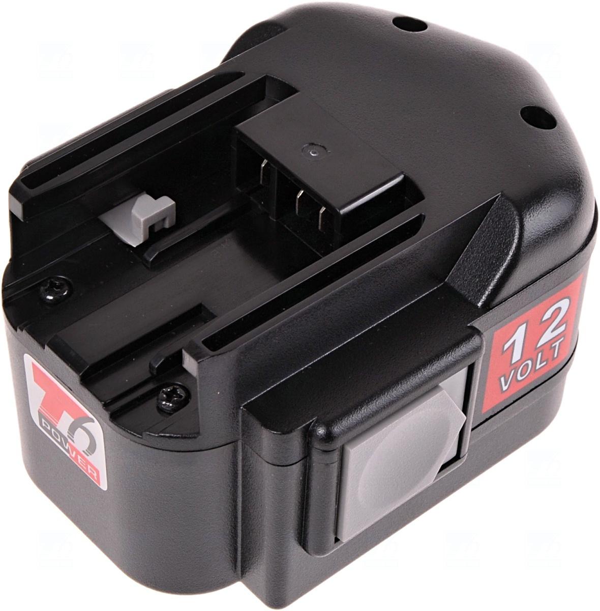 Baterie T6 power MXM12, M1230, 48-11-1900, 48-11-1950, 48-11-1960, 48-11-1967, 48-11-1970, 4932353639, 4932373522, 4932376508, B12, B1215, BX12, MX12, Ni-MH, 12V, 2000mAh