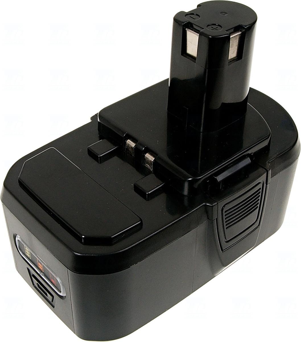 Baterie T6 power BPL-1820, BPL1820, RB18L40, RB18L25, RB18L15, BPL-1815, P107, P108, P102, P103, P104
