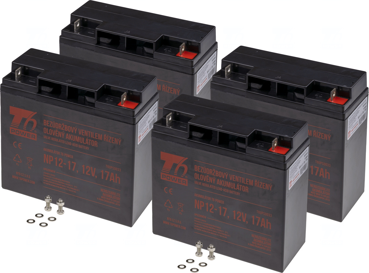 APC KIT RBC11, RBC55 - baterie T6 Power