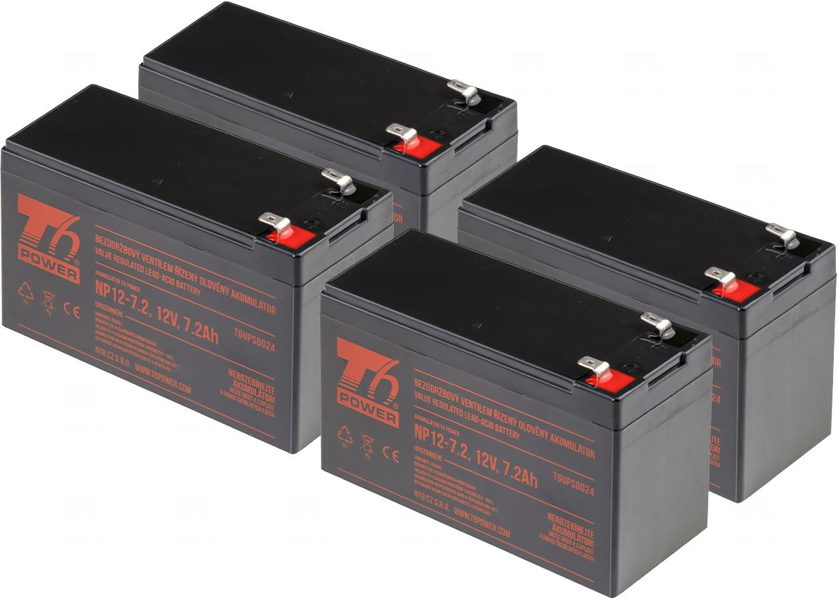 APC KIT RBC8, RBC23, RBC25, RBC31, RBC59 - baterie T6 Power