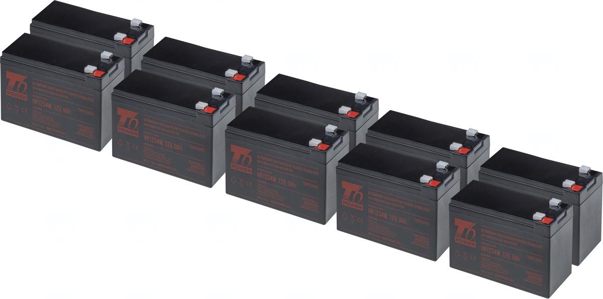 SADA 10ks akumulátor T6 Power HR1234W, 12V, 9Ah