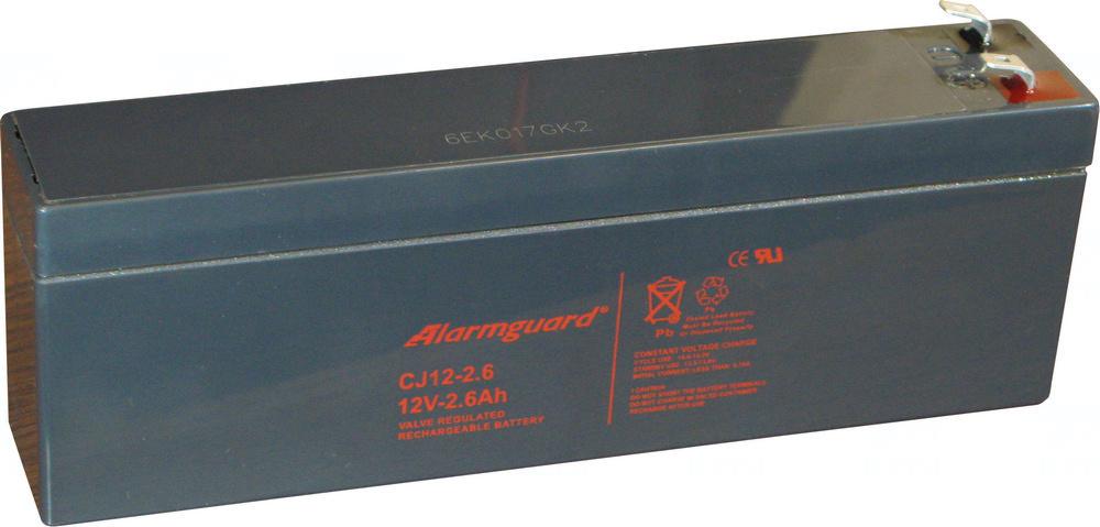 akumulátor Alarmguard CJ12-2,6 (12V/2,6Ah)