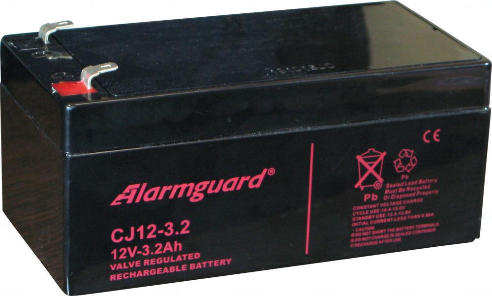 akumulátor Alarmguard CJ12-3,2 (12V/3,2Ah)