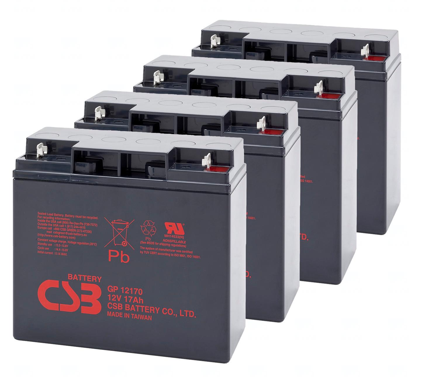 APC KIT RBC11, RBC55 - baterie CSB