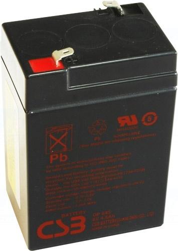 akumulátor CSB GP645 (6V/4,5Ah)