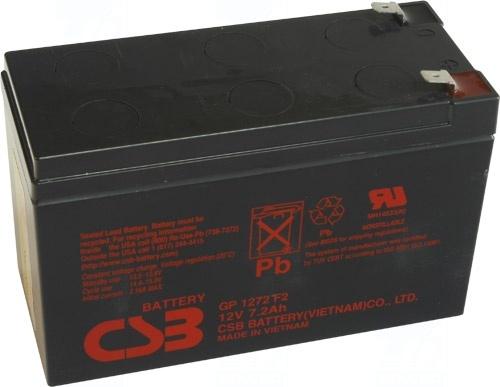 akumulátor CSB GP1272F2 (12V/7,2Ah)