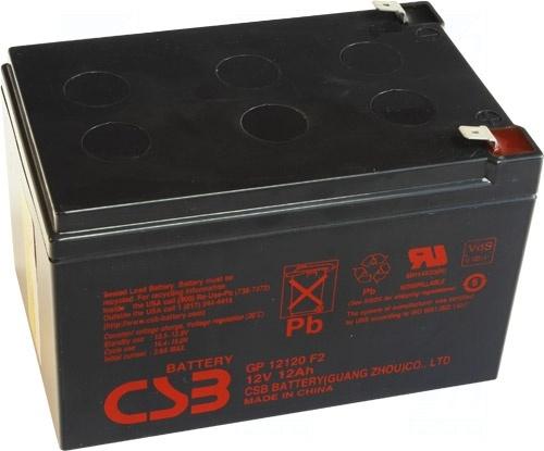 akumulátor CSB GP12120F2 (12V/12Ah)