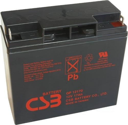 akumulátor CSB GP12170 (12V/17Ah)