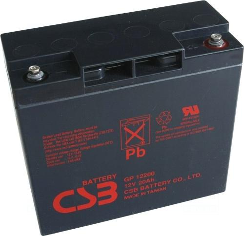 akumulátor CSB GP12200 (12V/20Ah)