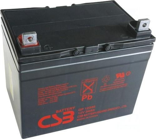 akumulátor CSB GP12340 (12V/34Ah)