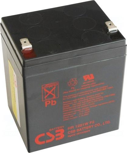 akumulátor CSB HR1221W F2 (12V/5,1Ah)