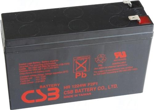 akumulátor CSB UPS123606F2F1 (12V/360W/5min.)