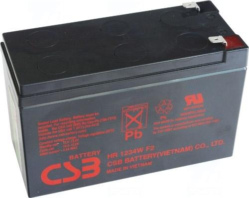 akumulátor CSB HR1234W F2 (12V/9Ah)