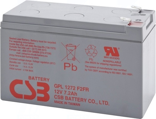 akumulátor CSB GPL1272F2 FR (12V/7,2Ah)