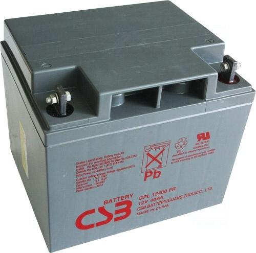 akumulátor CSB GPL12400 I (12V/40Ah)