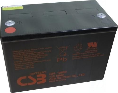 akumulátor CSB GPL12880 (12V/88Ah)